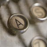 Typewriter 02 Royal keys A Art Print
