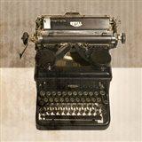 Typewriter 02 Royal Art Print
