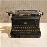 Typewriter 03 Royal Art Print
