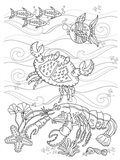 Crab And Lobster Art Print