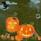 Halloween Jack-O'-Lanterns Art Print