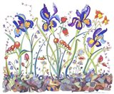 Cooper-Whimsical Flowers Art Print