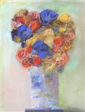 Zigzag Bouquet Art Print