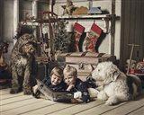 Christmas Togetherness Art Print