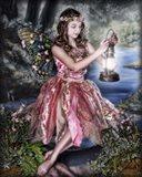 Dusk Fairy Art Print
