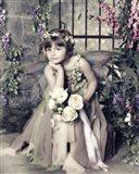 Fairy in Garden Art Print