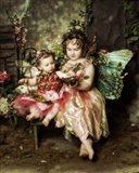 Victorian Fairies Art Print