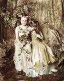 Fairies in Forest Art Print
