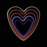 Good Vibrations - Hearts Art Print