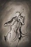 The Cellist Art Print