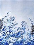 The Crashing Waves Art Print