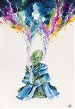 Alien Dabbing Art Print