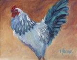 Blue Chick Art Print