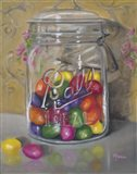 Jar Of Jellybeans Art Print