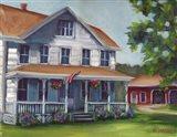 Porch Days Art Print