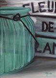 Blue Jar And Box Art Print