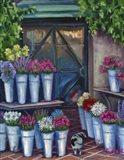 Daisy Flower Shopping Art Print