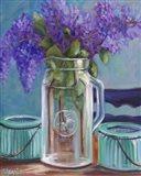 Homestead Lilacs Art Print