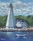 New London Lighthouse Art Print