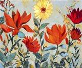 Bright Garden Art Print