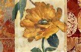 Golden Blossom 1 Art Print