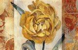 Golden Blossom 2 Art Print