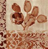 Portret Of Tulips Art Print