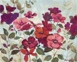Red And Pink Flowers Art Print