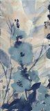 Blue Floral II Art Print