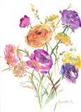 Flower Series 15 Art Print