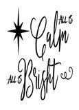 Calm Bright Art Print