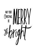 Merry Bright Art Print