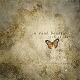 Real Beauty Butterfly Art Print