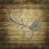 Whirly Bird Wood Art Print