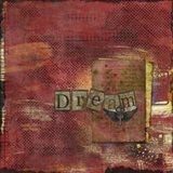 Dream in Red Art Print