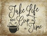One Cup A Time Art Print