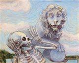 Ahh! Scary! Art Print