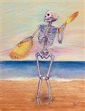 Skelly Dancer No. 10 Art Print
