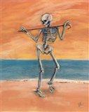 Skelly Dancer No. 11 Art Print