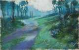 Morning Breaks, Julington Durbin Preserve Series Art Print