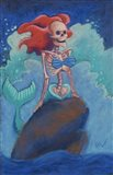 Part of Your (Skelly) World Art Print