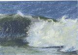 Wave Portrait No. 75 Art Print