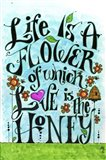 Flowery Life Art Print