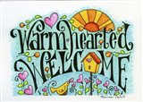 Warm Hearted Welcome Art Print