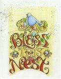 Bless This Nest Art Print