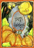 Happy Hauntings Art Print