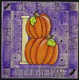 Halloween B Art Print