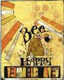 Bee Hive Happ Art Print
