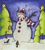 Winter Friends Art Print