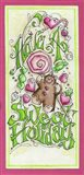 Sweet Holidays Art Print